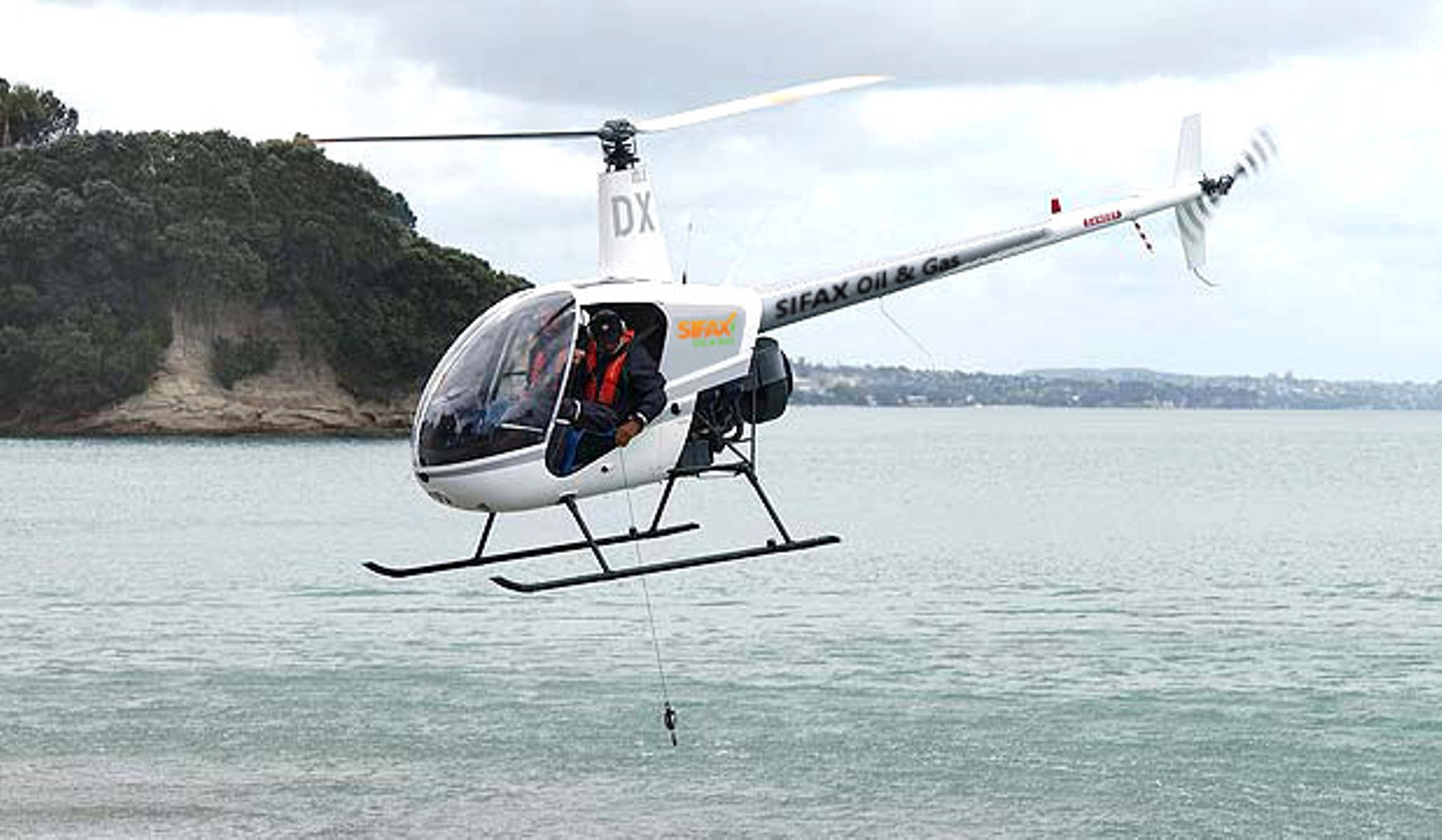 helicopter sampling