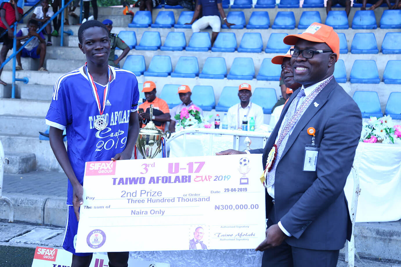 3rd Edition of the Taiwo Afolabi U-17 Football Competition