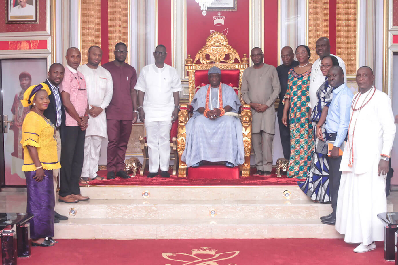 Olu of Warri pledges support for SIFAX Group consortium Ocean and Cargo terminal